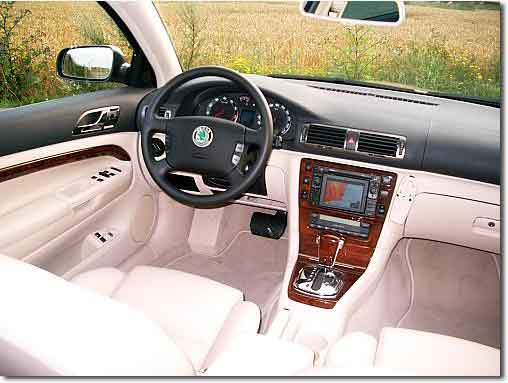A new Skoda Superb
