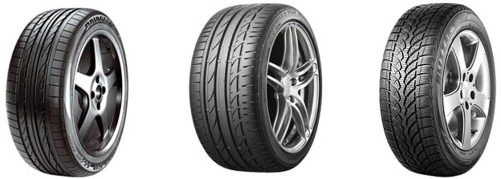 Bridgestone liefert für Mercedes auf die Fahrzeuge zugeschnittenen Bridgestone Technologie