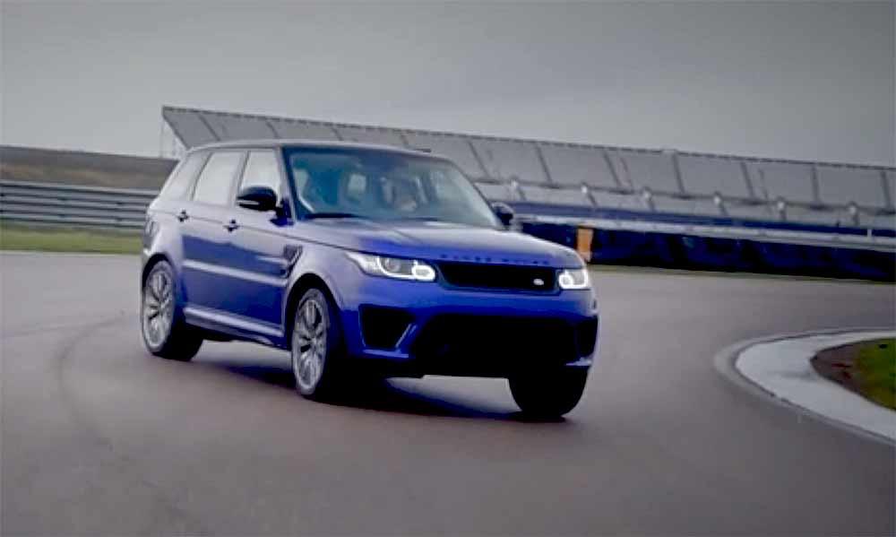 Bis zum Limit:_ Rover Sport SVR Drifting