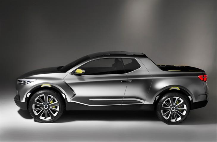 Hyundai Santa Cruz Crossover-Pickup mit SUV-Genen