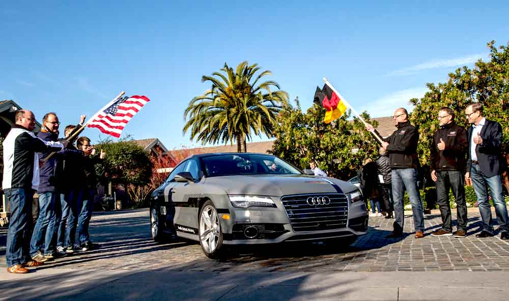 CES 2015: Audi RS 7 piloted driving concept