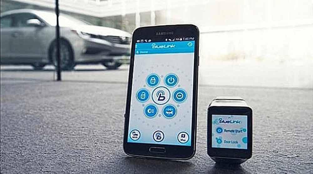 CES 2015: Hyundai Android Wear-App startet Auto vom Handgelenk