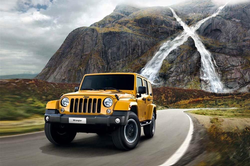 Sondermodell Jeep Wrangler X Special Edition 2015
