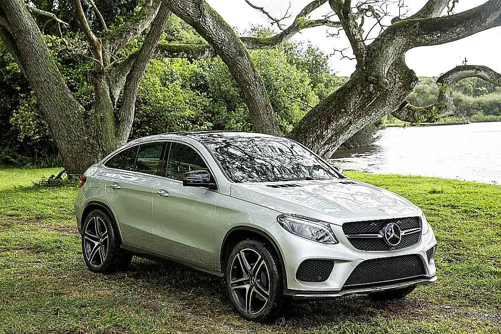 Mercedes GLE Coupé als Filmstar