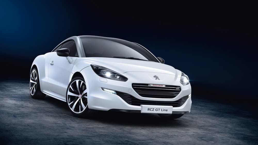 Der Peugeot RCZ ab sofort als extra sportliche GT-Line zu Preisen ab 34.950 Euro