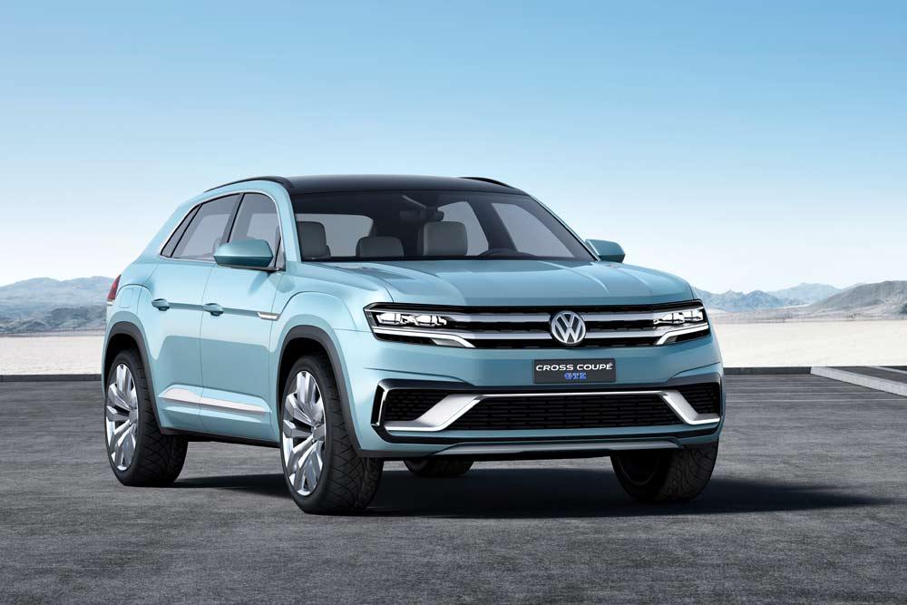 NAIAS 2015:VW-Studie: Cross Coupé GTE