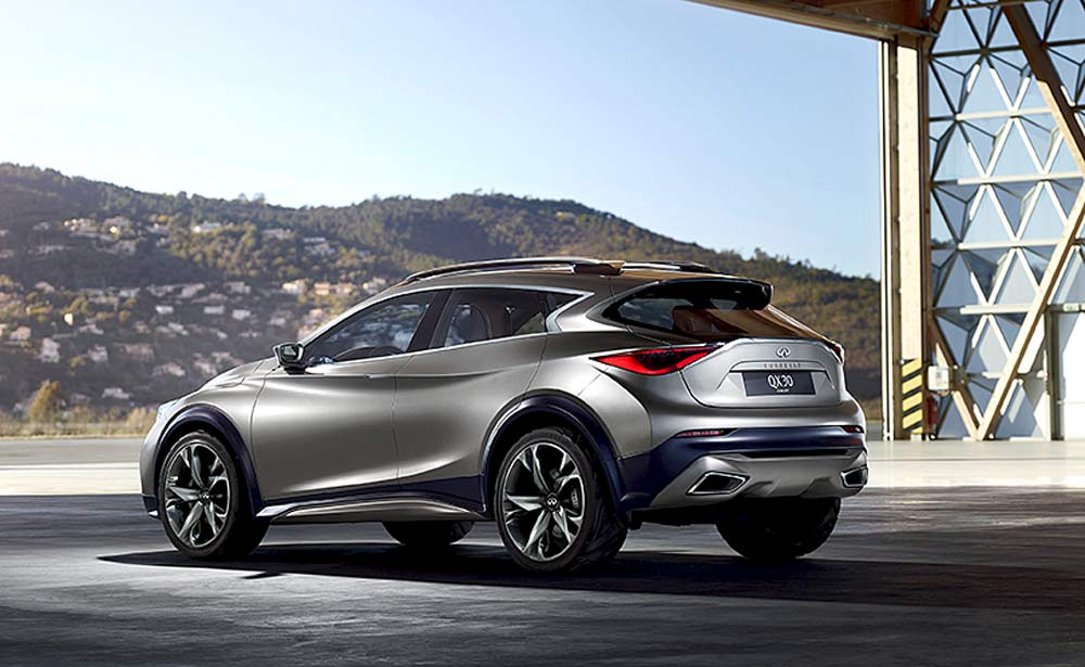 Crossover mit Mercedes-Technik: Infiniti QX 30 Concept