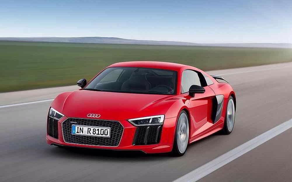 Audi R8 V10 plus - Dieses Bild wurde vorab im Internet geleakt