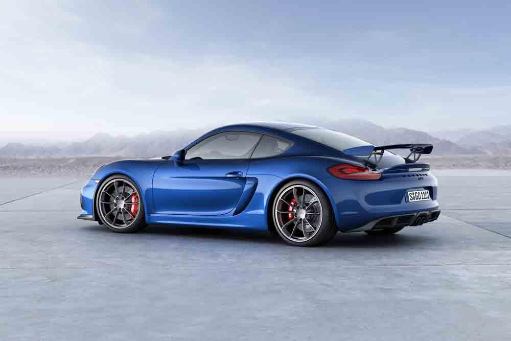 extrem sportlich und rundentauglich: Porsche Cayman GT4