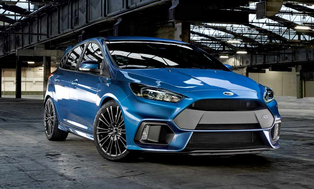 Zähme das Biest! Der neue Ford Focus RS 2016
