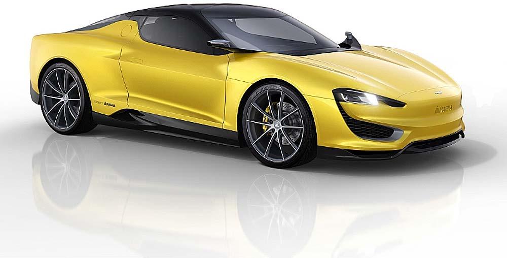 Der Zulieferer Magna aus Österreich präsentiert auf dem Autosalon in Genf (5. bis 15. März) eine Sportwagen-Studie mit Hybrid-Antrieb.