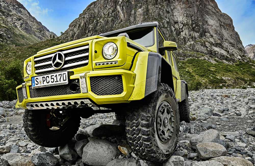 Mercedes G500 4x4 - Genfstudie 2015
