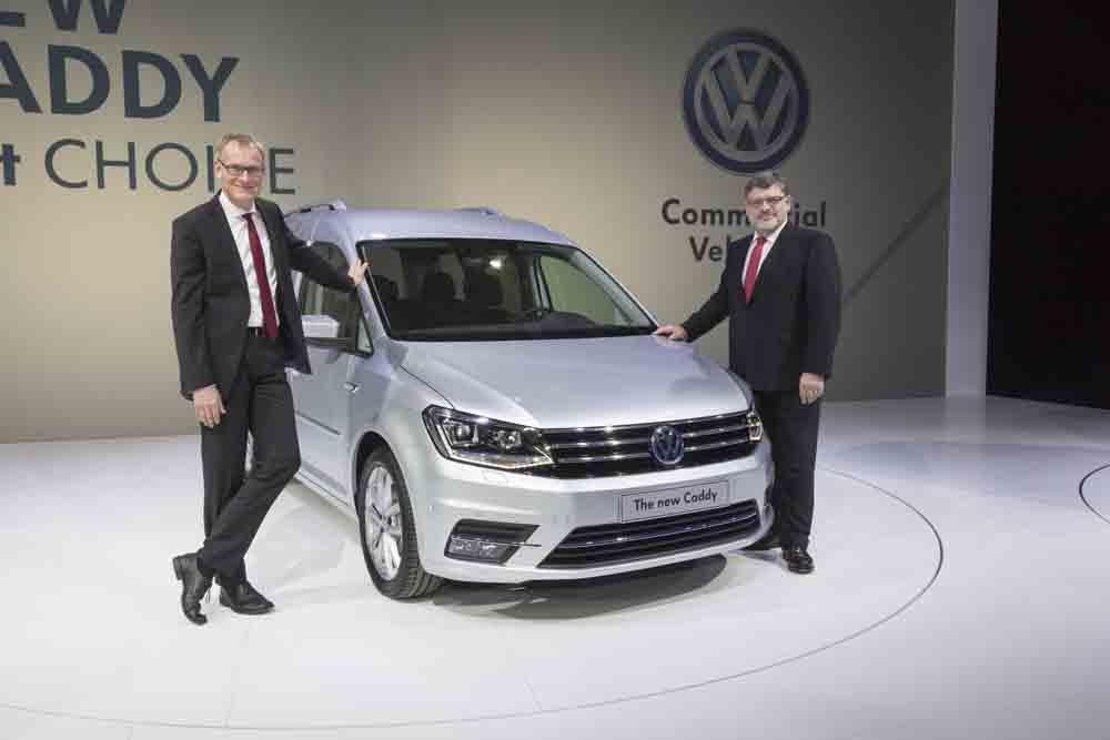 VW Caddy Generation 4