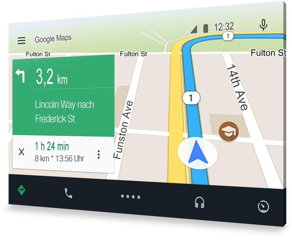 Die offizielle App für Android Auto ist aktuell bei Google Play  gelistet. allerdings noch nicht in Deutschland.