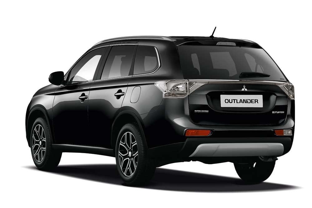 Mitsubishi Outlander jetzt auch als Sondermodell Klassik Kollektion