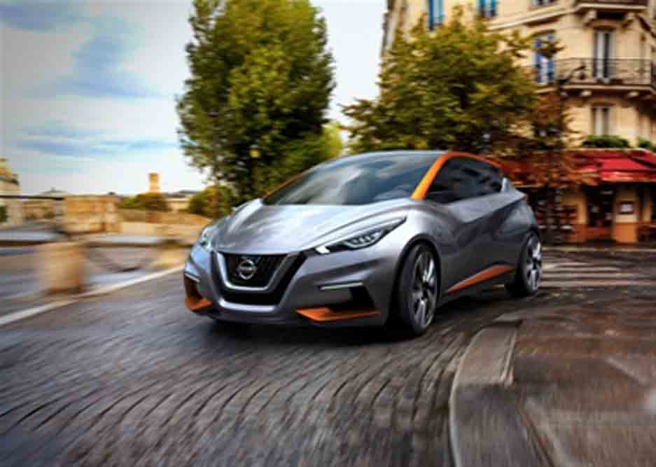 Die japanische Renault-Partner Nissan hat auf dem Genfer Autosalon 2015 mit der Studie Sway einen ersten Ausblick auf den neuen Micra gewährt.