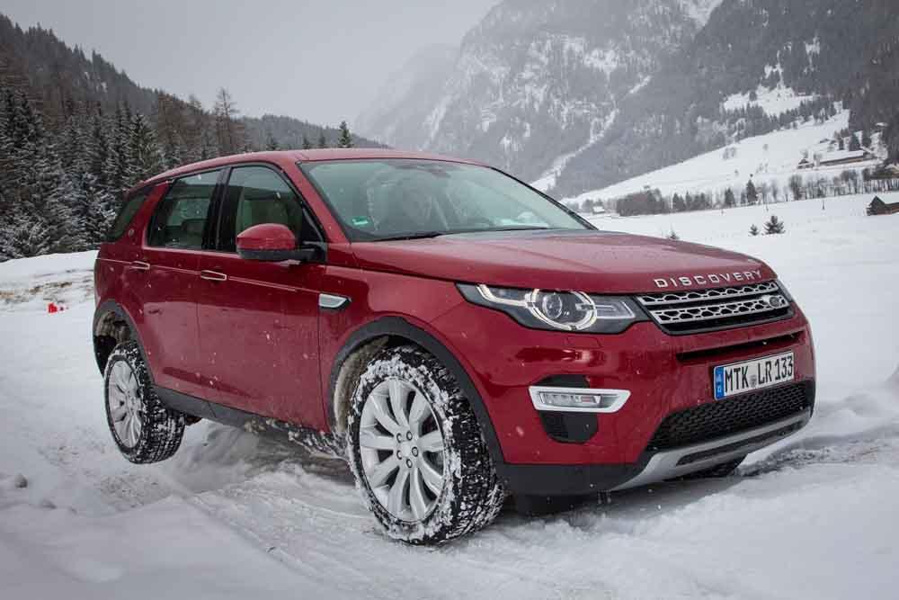 Land Rover Discovery Sport mit den neuen Ingenium-Motoren