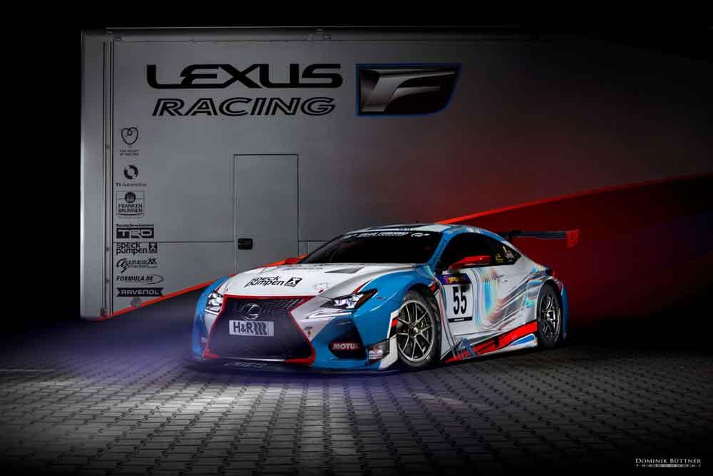 Lexus bereitet sich auf Motorsport Engagement in Europa vor