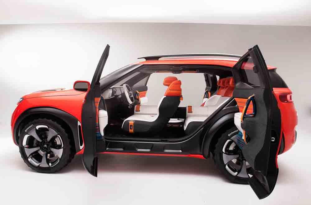 Shanghai: Citroen zeigt SUV-Konzept
