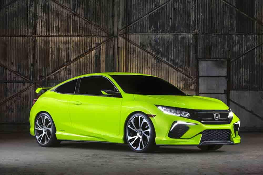 Honda gewährt auf der New York Auto Show 2015 einen Ausblick auf den kommenden neuen Civic. Die zehnte Generation des Honda Civic läßt nicht mehr lange auf sich warten.