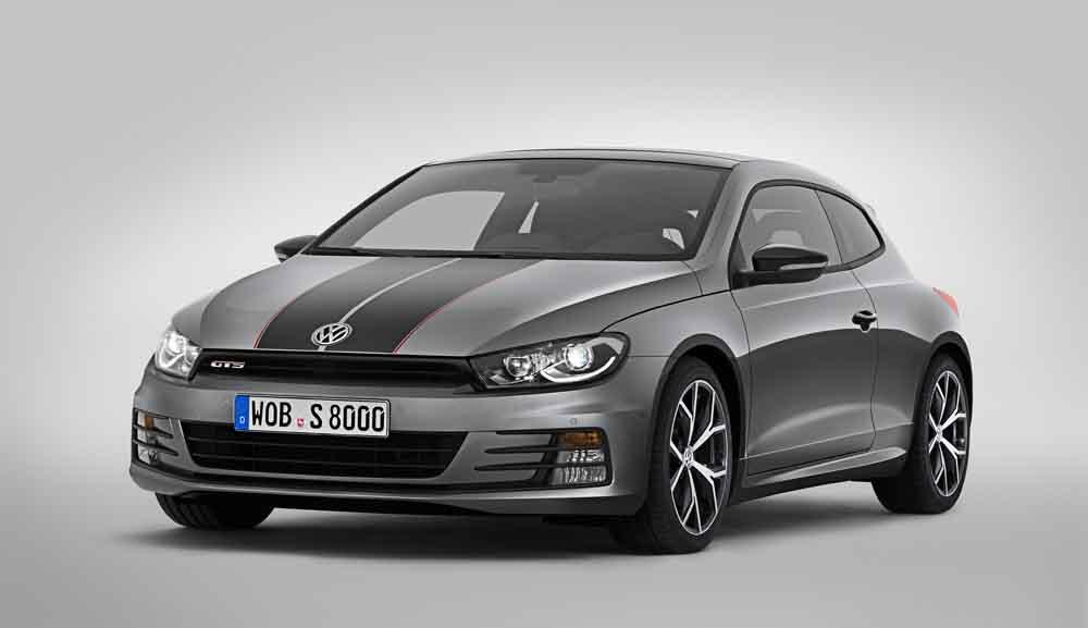 Volkswagen präsentiert auf der Autosow in Shanghai eine besonders scharfe Version seines sportlichen Scirocco.