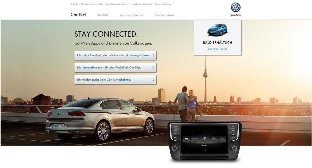 VW Connect car