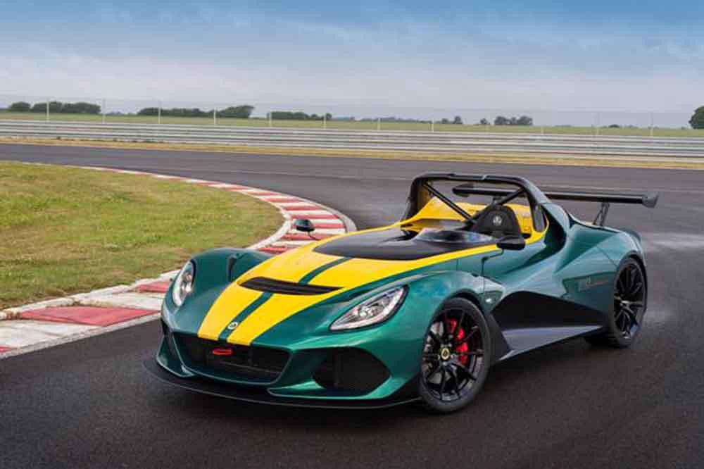 Eine neue Generation Lotus High Performance Sportwagen.