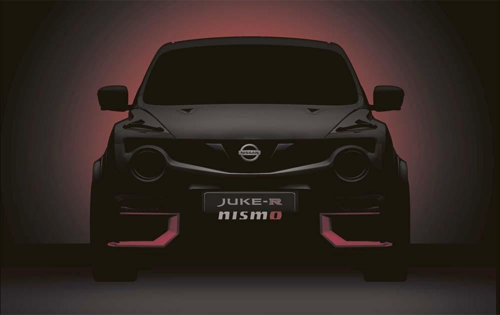 Der Nissan SSUV Juke R im Nismo Trimm mit 600 PS.