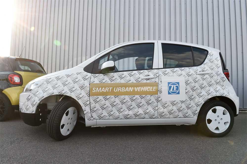 Elektorstudie ZF Smart Urban Vehicle