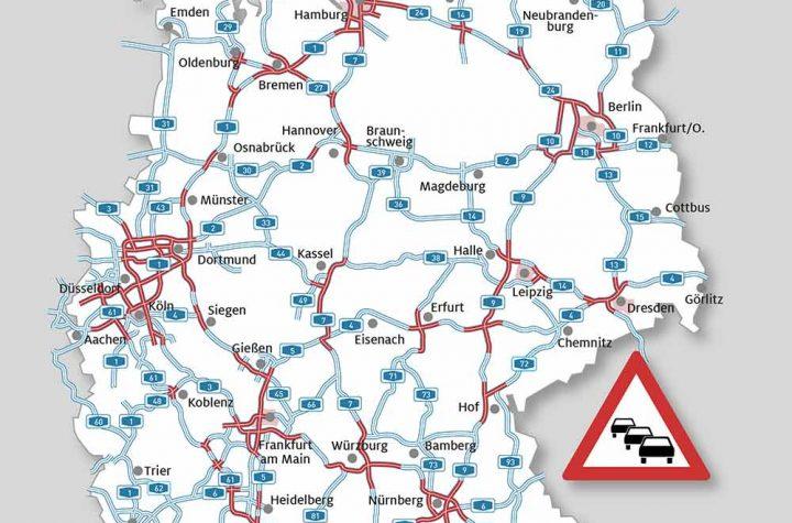 Baustellen Autobahnen Dezember 2019