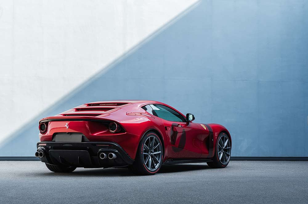 One Off Modell Ferrari Omologata Motormobiles