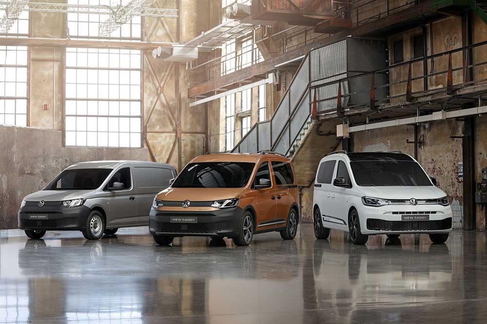 Neuer Caddy: Weitere Modellvarianten oder Sondermodelle wie der Caddy Maxi, der Caddy California oder der Caddy 4MOTION folgen sukzessive in den kommenden Wochen und Monaten - Bildnachweis: VWN / Volkswagen