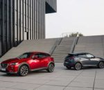 Modelljahr 2021 des Mazda CX-3 mit Zylinderabschaltung und aufgewertetem Interieur