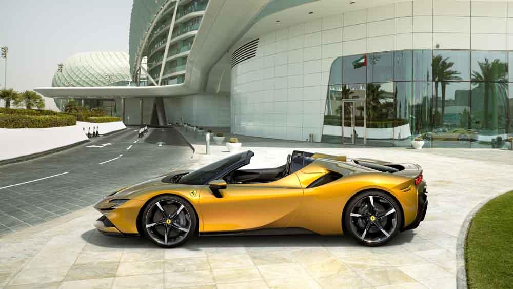 Ferrari Sf90 Spider Die Offene Version Des Stradale Startet 2021 Ab 473 000 Euro Motormobiles