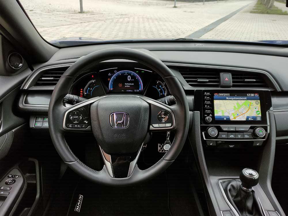 Interieur Honda Civic Elegance