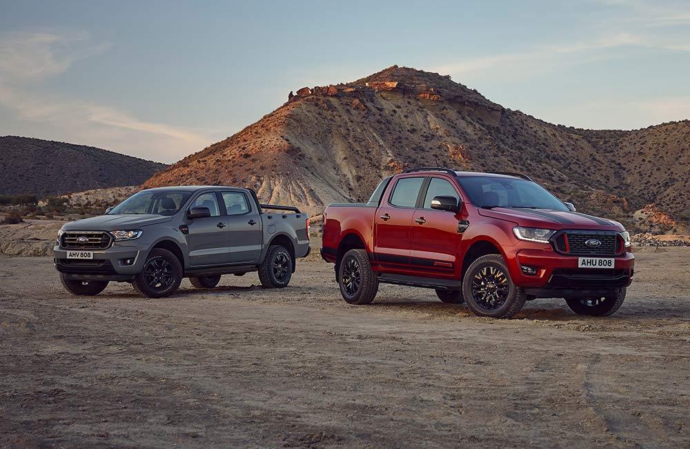 Pickup-Sonderedition-Ford-Ranger-Stormtrak-und-Ranger-Wolftrak