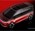 Volkswagen Nutzfahrzeuge zeigt Skizzen des neuen Multivan (T7): Neuer Bulli feiert Mitte Juni Premiere