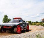 Audi RS Q e-Tron: Testlabor für mögliche Zukunftstechnologien bei der Rallye Dakar