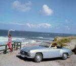 """Sonderausstellung """"Faszination SL – seit 70 Jahren ein Traumwagen"""" – Das """"S"""" steht für """"Super"""" und das """"L"""" für """"Leicht"""""""
