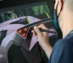 Zeitraffervideo zeigt die Arbeit des Designteams: Entwurfsphase des Cupra Tavascan Extreme E Concept