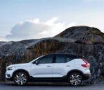 Zweite Antriebsvariante für vollelektrischen Volvo XC40 Recharge Pure Electric startet ab 45.080 Euro: E-SUV erstmals mit Frontantrieb und 231 PS