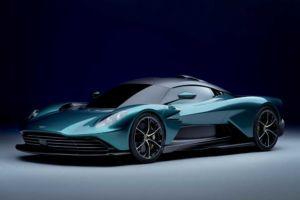 Aston Martin Valhalla 2021 - PHEV-Konzeptstudie