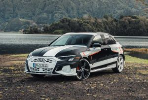 Audi A3 Sportback Prototyp Covered Drive