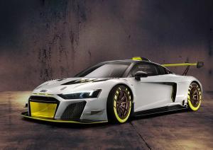Audi R8 LMS GT2 beim Goodwood Festival of Speed