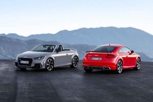 Audi TT RS Coupé  und TT RS Roadster