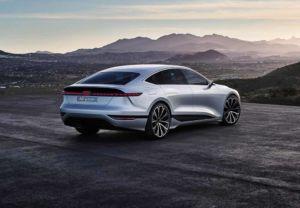 Audi A6 e-tron concept - Shanghai 2021