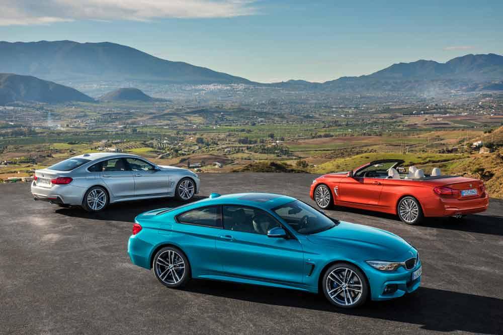 BMW 4er Reihe Facelift 2017