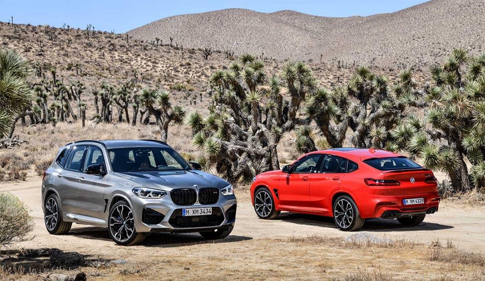 Der neue BMW X3 M Competition und der neue BMW X4 M Competition (02/2019)