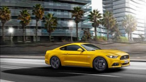 The new Ford Mustang 2015