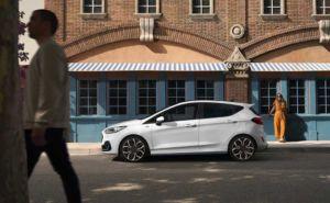 Ford Fiesta Facelift - MJ 2022